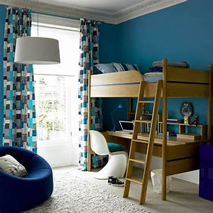 the farmers daughter: blue boys bedroom