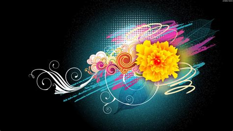 Vector Image Desktop by Flower Vector Designs 1080p Wallpapers Hd Wallpapers