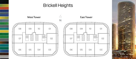 floor plans  brickell heights condo miami