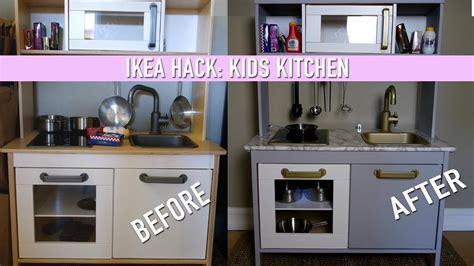 IKEA Hack    DIY Kids Kitchen Set   YouTube