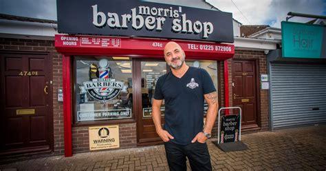 morris barbers reopens  months  devastating arson