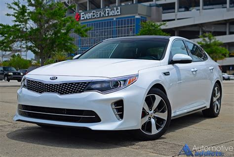 Kia Optima Turbo For Sale by 2016 Kia Optima Sx Turbo Review Test Drive