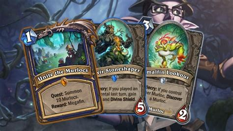 murlocs looking strong in latest group of un goro card