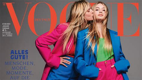 "Feb 08, 2021 · leni klum is the daughter of supermodel heidi klum and her former partner, italian businessman flavio briatore. Leni Klum auf dem ""Vogue""-Cover! Mit diesem Hammer-Foto ..."