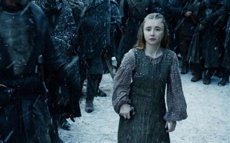 child actress in game of thrones game of thrones george rr martin always intended for