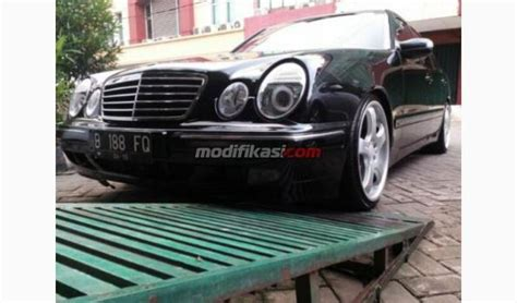 Modifikasi Mercedes V Class by Mercy E240 W210 Tahun 2000 V Engine Modifikasi Carlsson