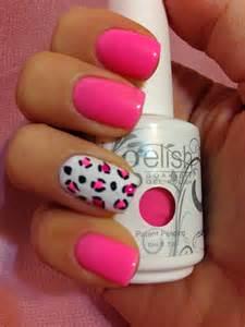 Gelish Nail Polish Neon Pink