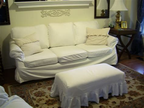extra large sofa slipcovers extra large ottoman slipcovers home design ideas