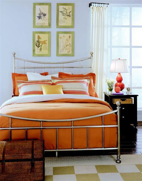 camden black bedroom metal bed  brushed nickel