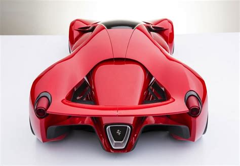 This is a detailed model of f80 concept streamlined. wordlessTech | Ferrari F80 concept