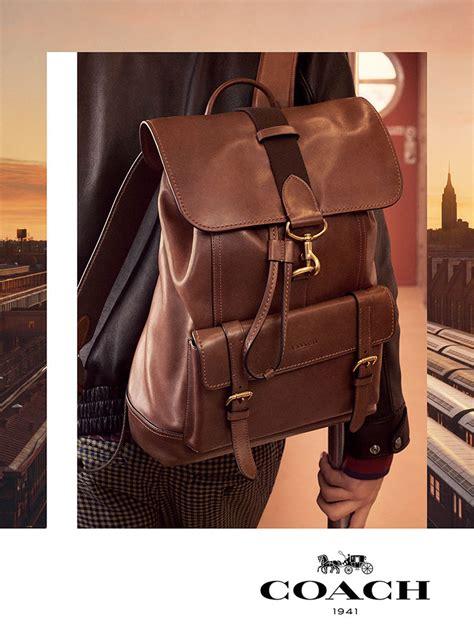 coach debuts fall  ad campaign featuring  brand  bandit bag purseblog