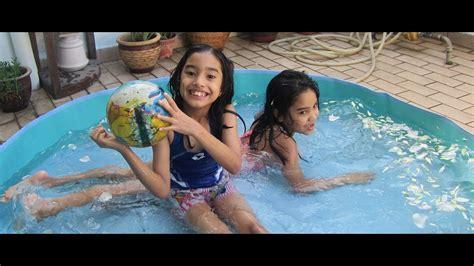 kiddy pool kids swimming  outdoor kiddie pool plastic kiddie pool youtube