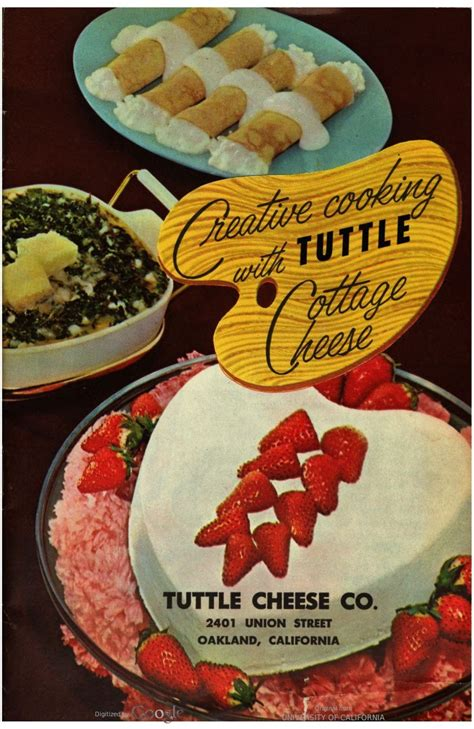 cooking with cottage cheese recipes creative cooking with cottage cheese published by the