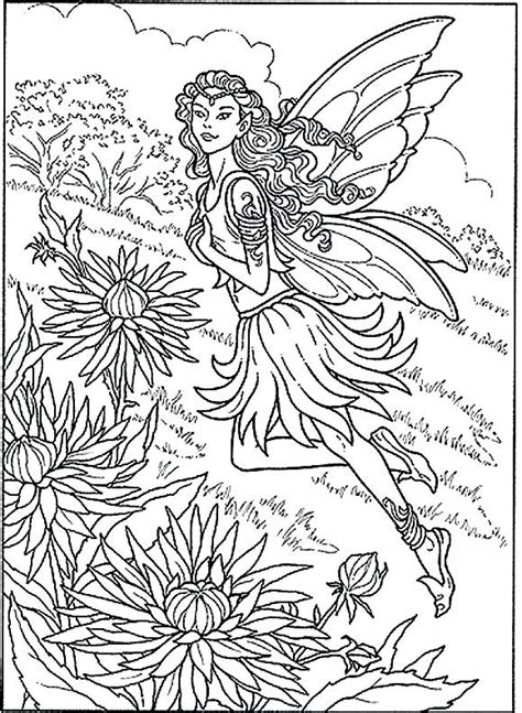 fairy garden coloring pages  getcoloringscom