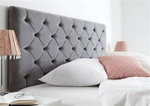 Tete De Lit Tissu : choisir une t te de lit en tissu avantages et conseils ~ Premium-room.com Idées de Décoration