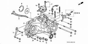 Honda Prelude Manual Transmission Parts Diagram  Honda  Auto Parts Catalog And Diagram