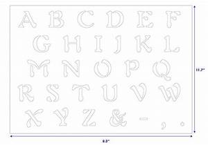 free alphabet stencils letter d car interior design With letter wall stencils for painting