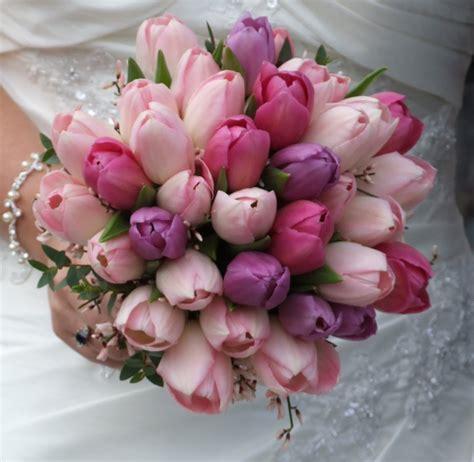 crystal flowers vibrant tulip wedding bouquets crystal