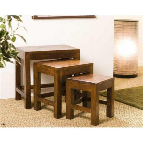table basse carr 233 e ronde ou rectangulaire au meilleur prix table basse gigogne adam en bois