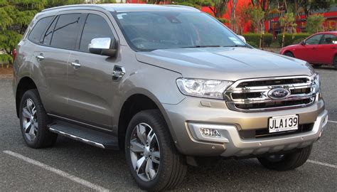 ford everest auto car update