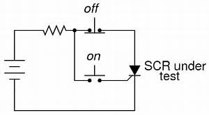 the silicon controlled rectifier scr thyristors With how to make simple scr circuits