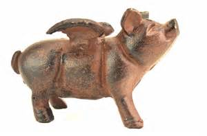 Flying Pig with Wings