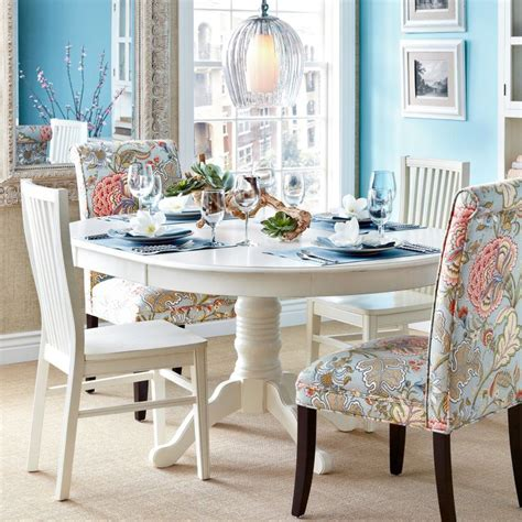 pier one kitchen table ronan pedestal extension table pier one white eat in