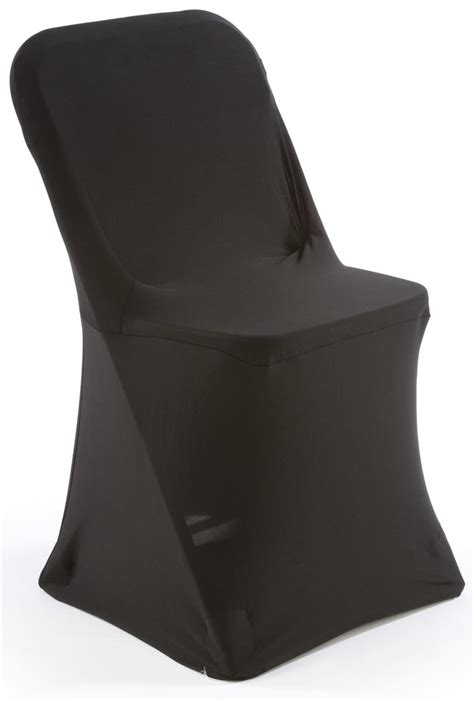 black folding chair covers stretch fabric