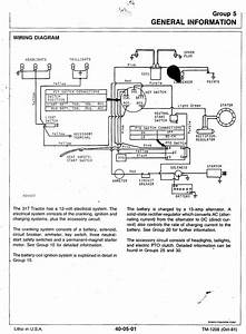 Electrical Problem With A 317 - Mytractorforum Com