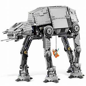 Motorized Walking Star Wars Lego AT-AT - The Green Head
