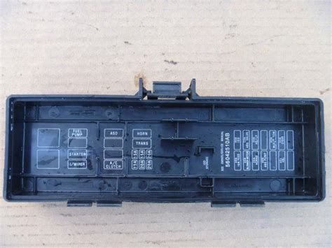 97 Jeep Grand Fuse Box by Buy 96 97 98 Jeep Grand Fuse Box Door Lid Cover