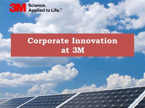 Corporate Innovation At 3m