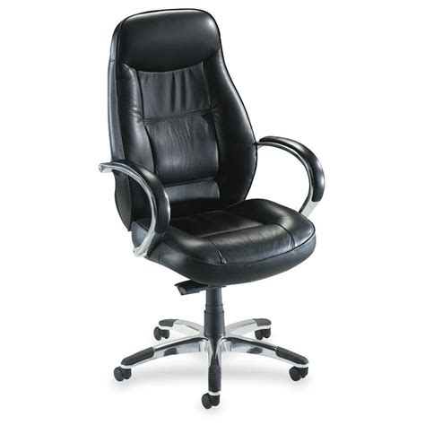 executive high back chair black leather ridgemoor by