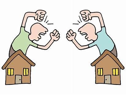Neighbors Fighting Neighbour Neighbor Disputes Law Talking