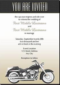 harley davidson wedding invitations free mini bridal With free printable harley davidson wedding invitations