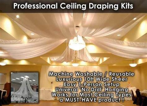 ceiling drape kits ceiling draping kits prom ideas