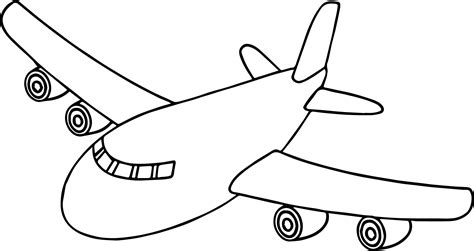 front airplane coloring page wecoloringpage