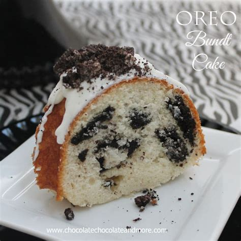 oreo cookies  cream bundt cake chocolate chocolate