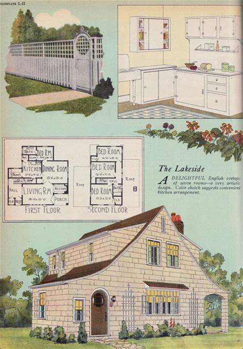 home plans magazine 1925 artistic cottage builder magazine