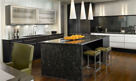 white marble kitchen island how black marble can make your home more glamorous 1436