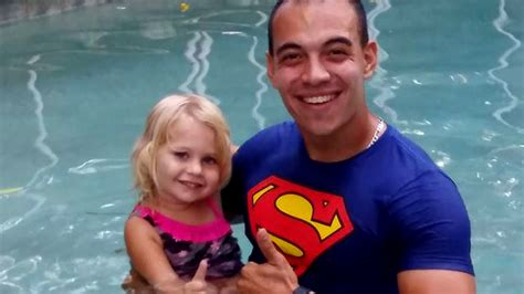 coral springs preschool offers free water safety classes 576 | Coach Jacob with toddler 1