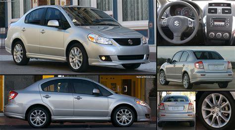 suzuki sx sedan  pictures information specs