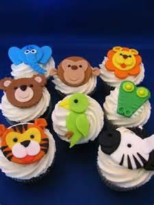 Jungle Animal Cupcake Cakes