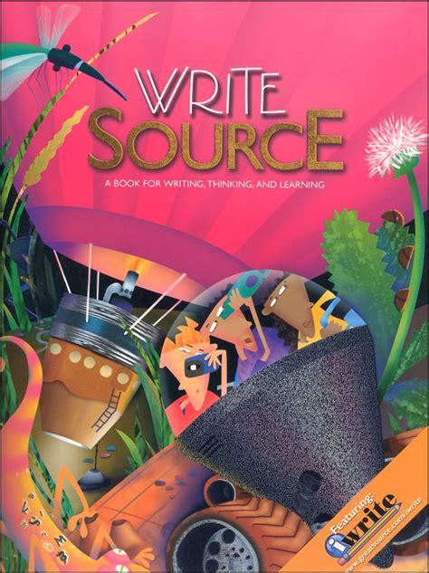 Write Source (2009) Student Book Grade 8 (030996) Details  Rainbow Resource Center, Inc