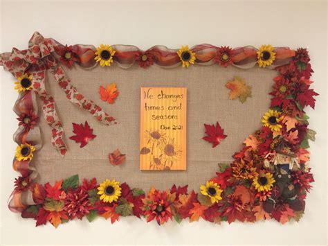 fall bulletin board  church church bulletin boards