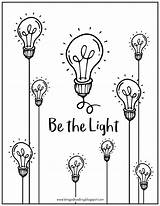 Drawing Bulb Coloring Bulbs Printable Getdrawings sketch template