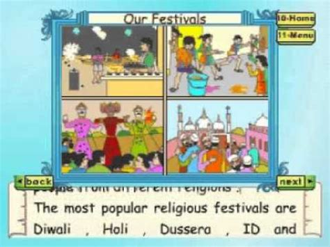 learn evs class 3 our festivals part 2 animation