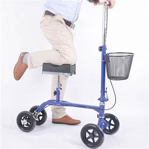 How To Use A Knee Scooter