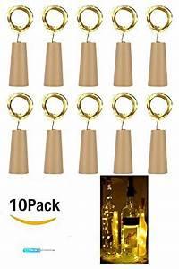 Lichterkette Für Flaschen : 10 st ck 20led 2m flaschen licht warmwei flaschenlichter lichterketten nacht licht weinflasche ~ Frokenaadalensverden.com Haus und Dekorationen