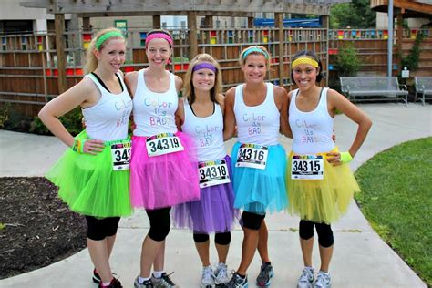 color run faq running in a skirt